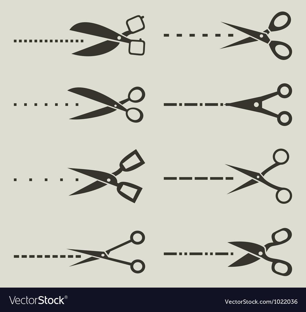 Scissors3 vector