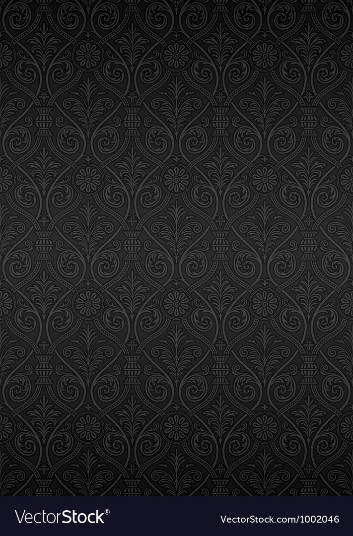 Seamless ornamental wallpaper vector