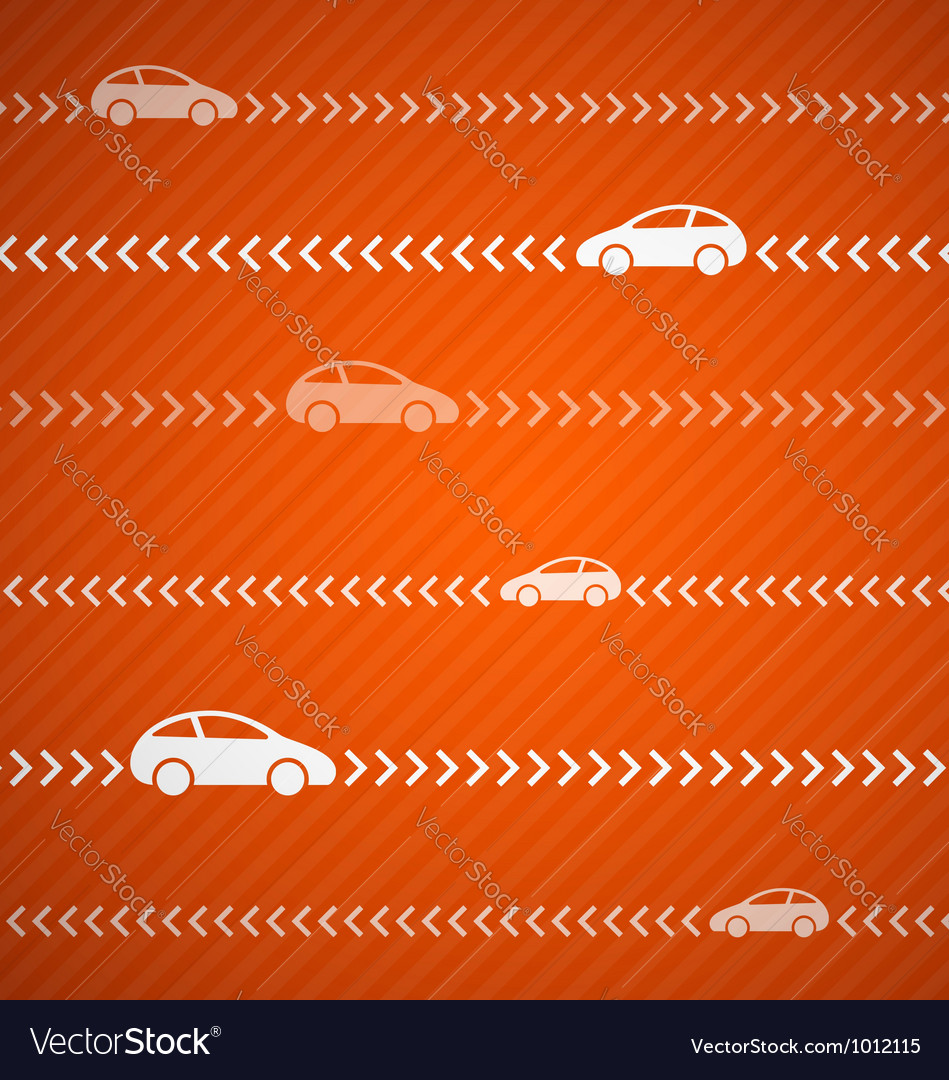 Car abstract background vector
