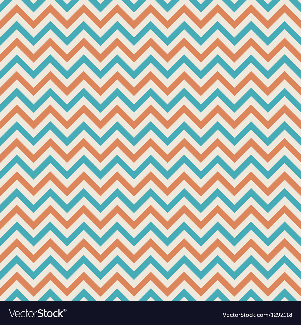 Colors chevron pattern background retro vintage vector