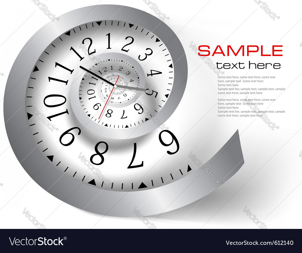 Infinity time vector