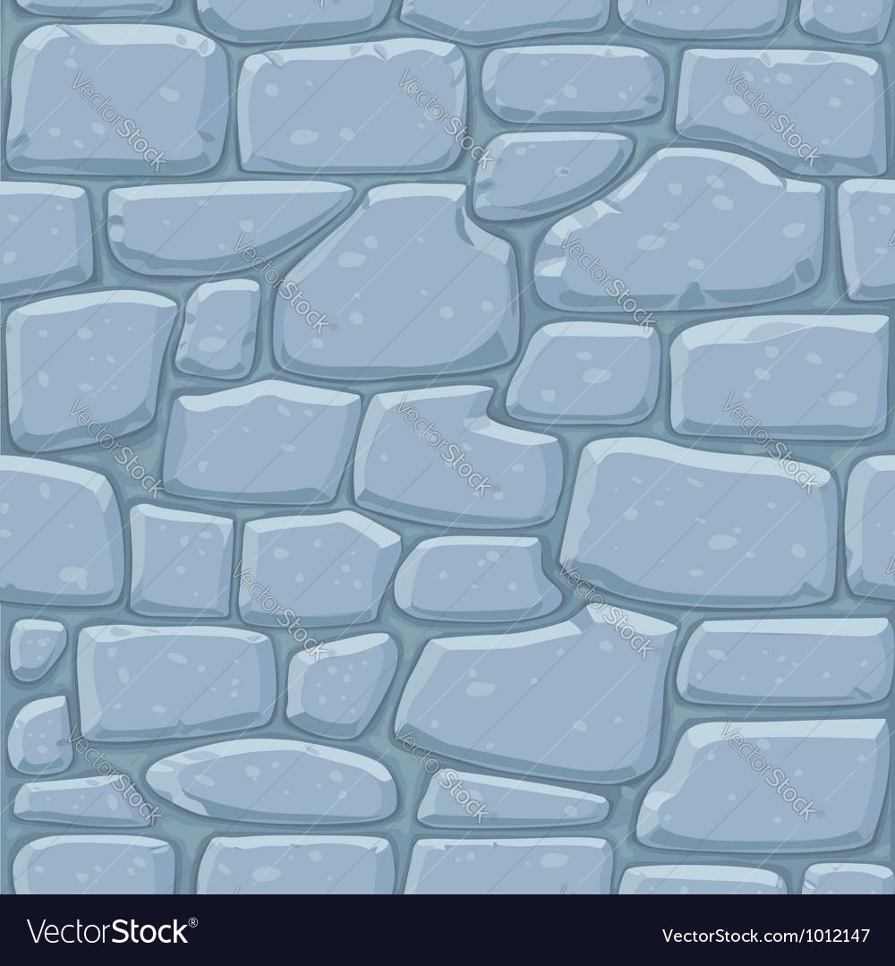 Seamless pattern of masonry vector