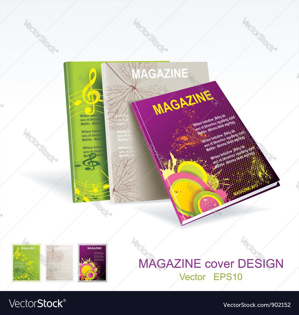 Magazines vector