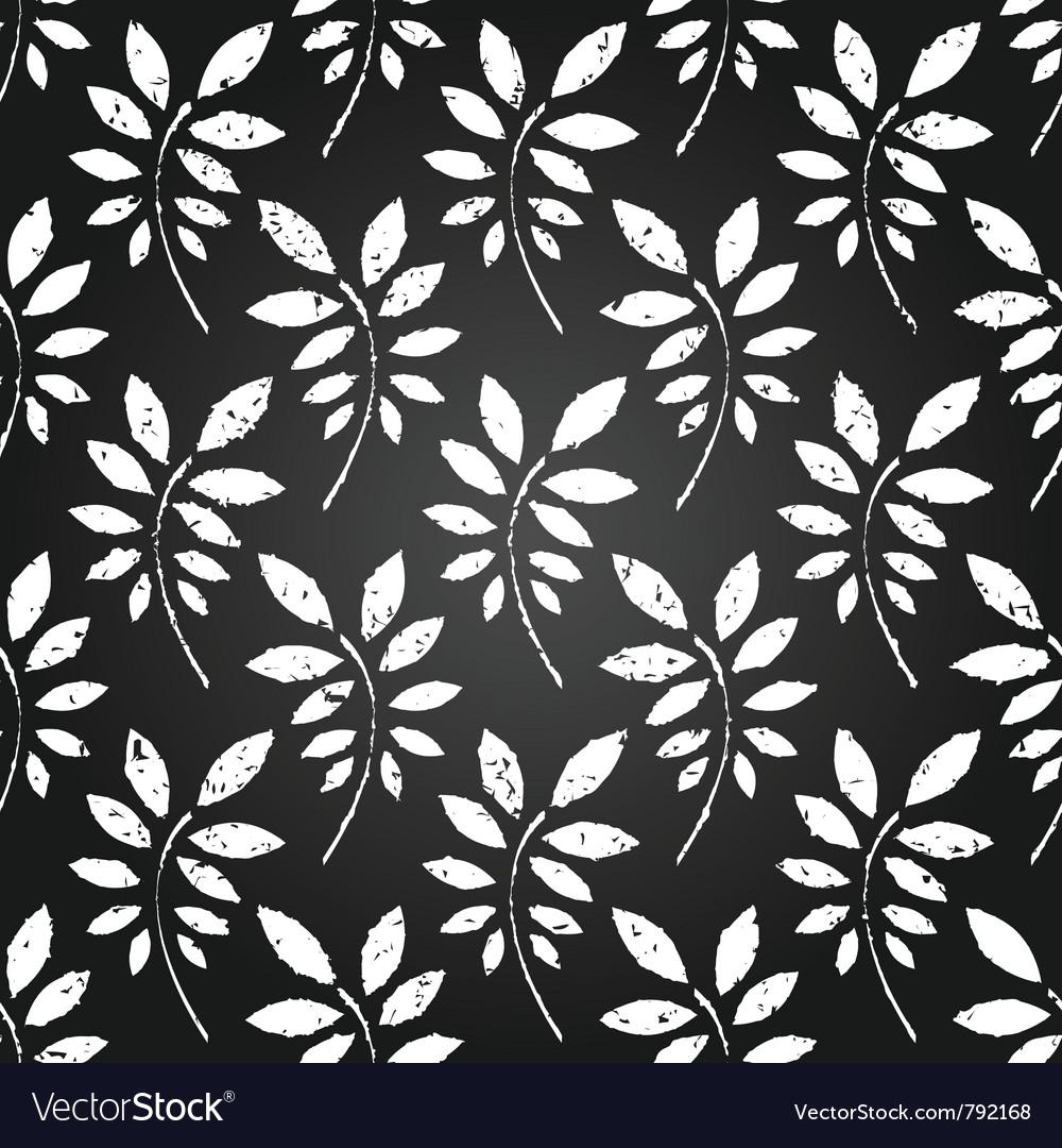 Seamless leaves wallpaper vector