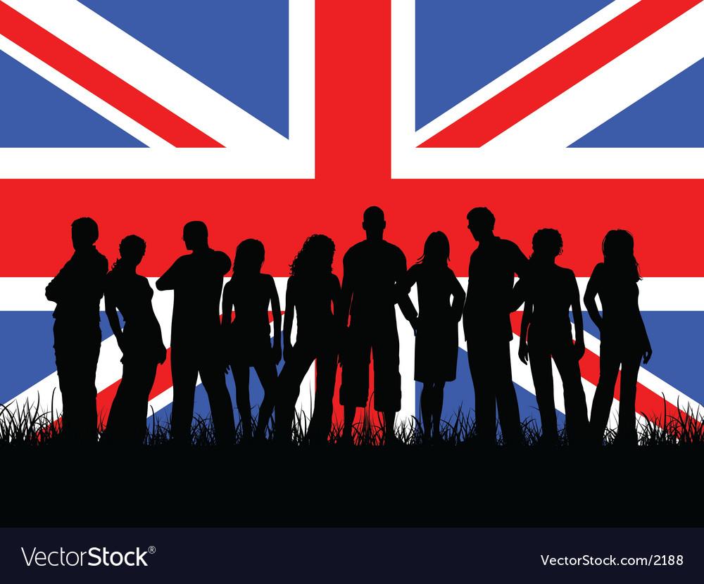 British youth vectorYouth Group Vector