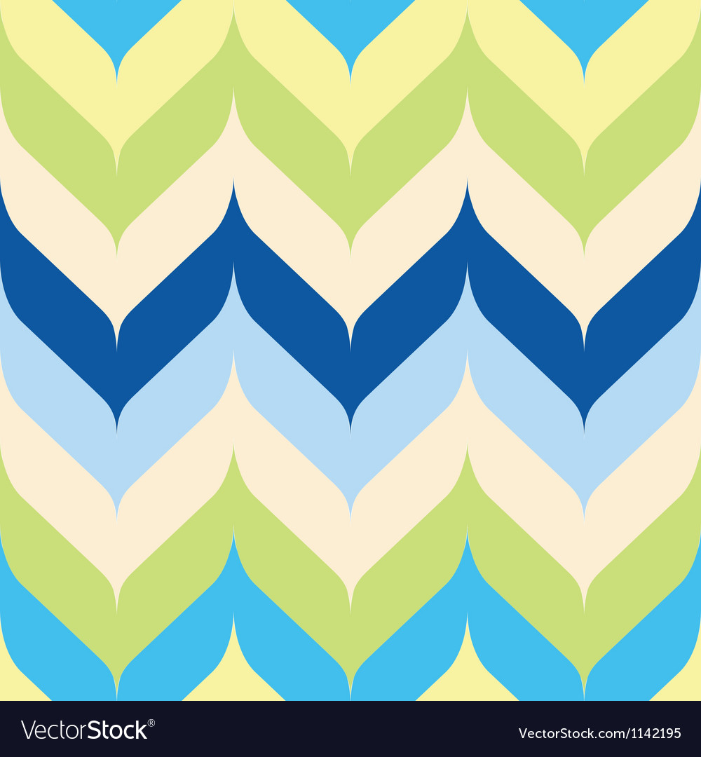Shoreline rounded chevron vector