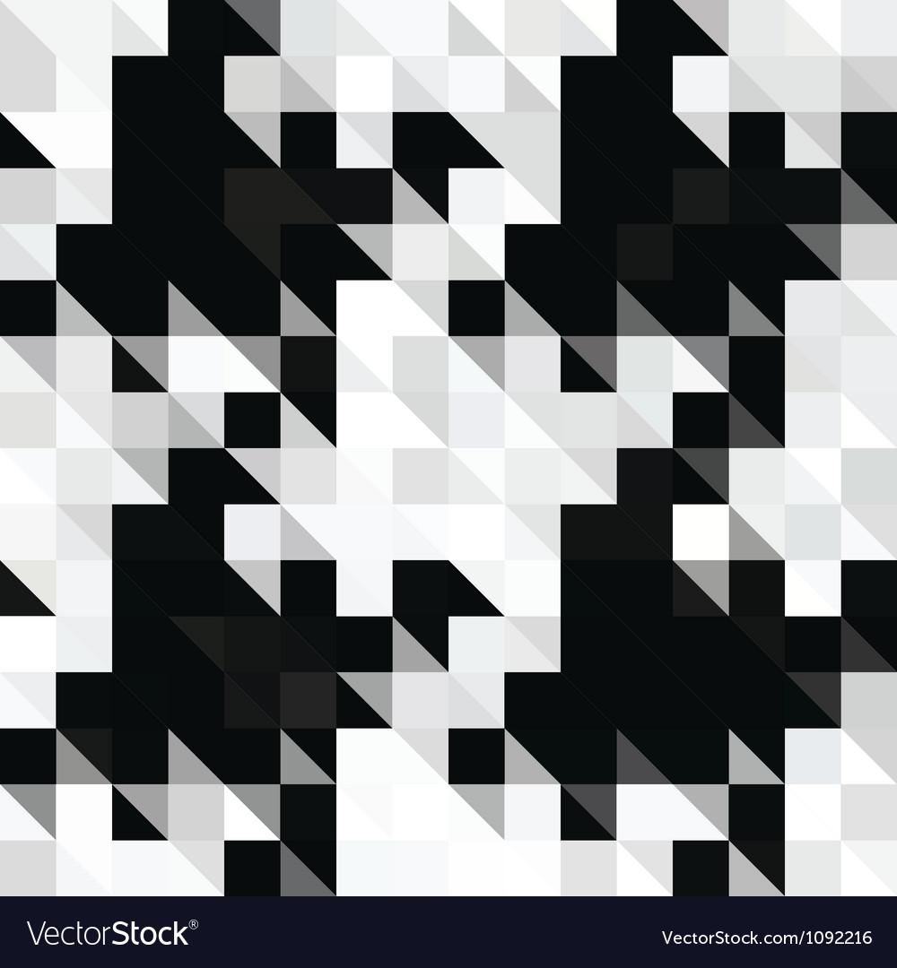 Pixels hounds tooth vector