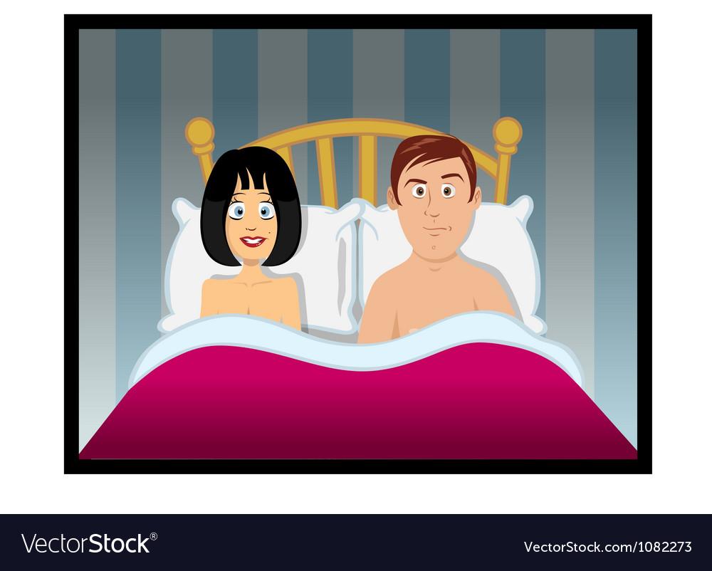 Sex bedroom vector
