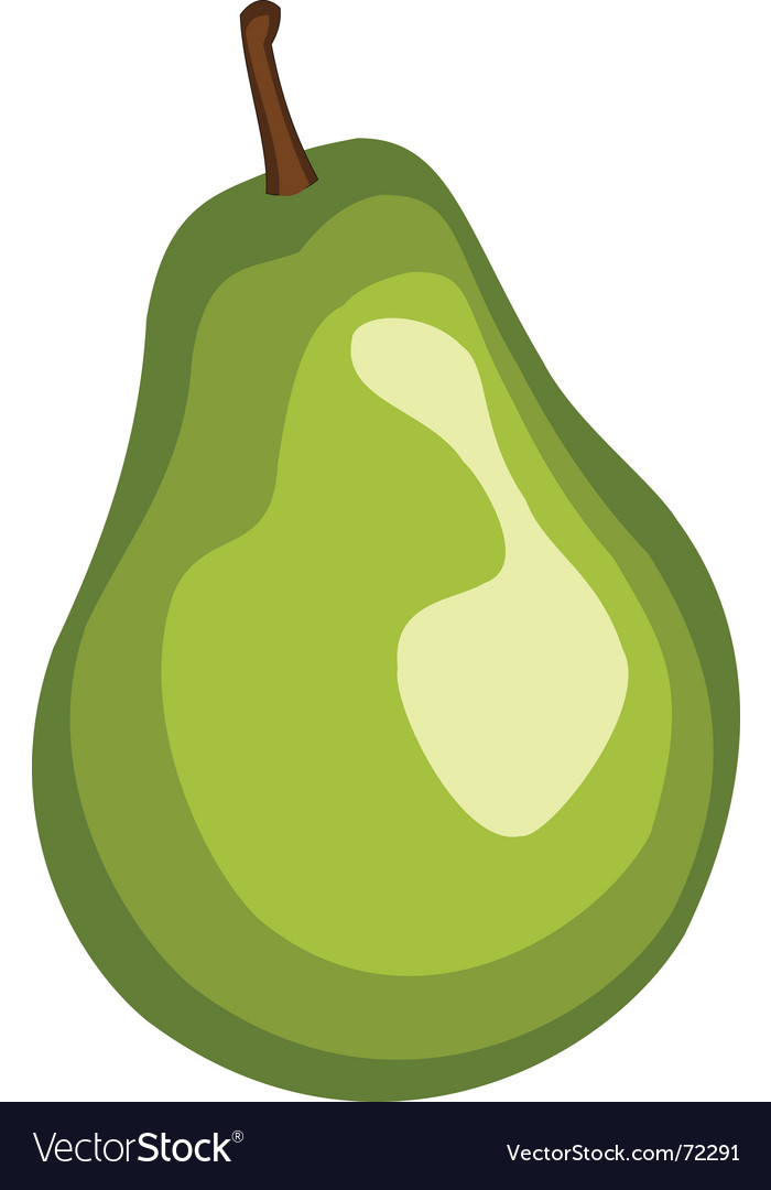 Free pear vector