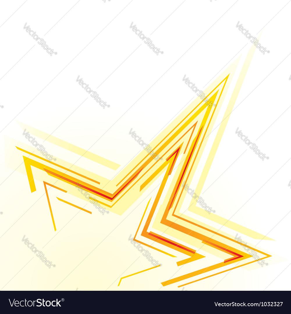 Star background vector