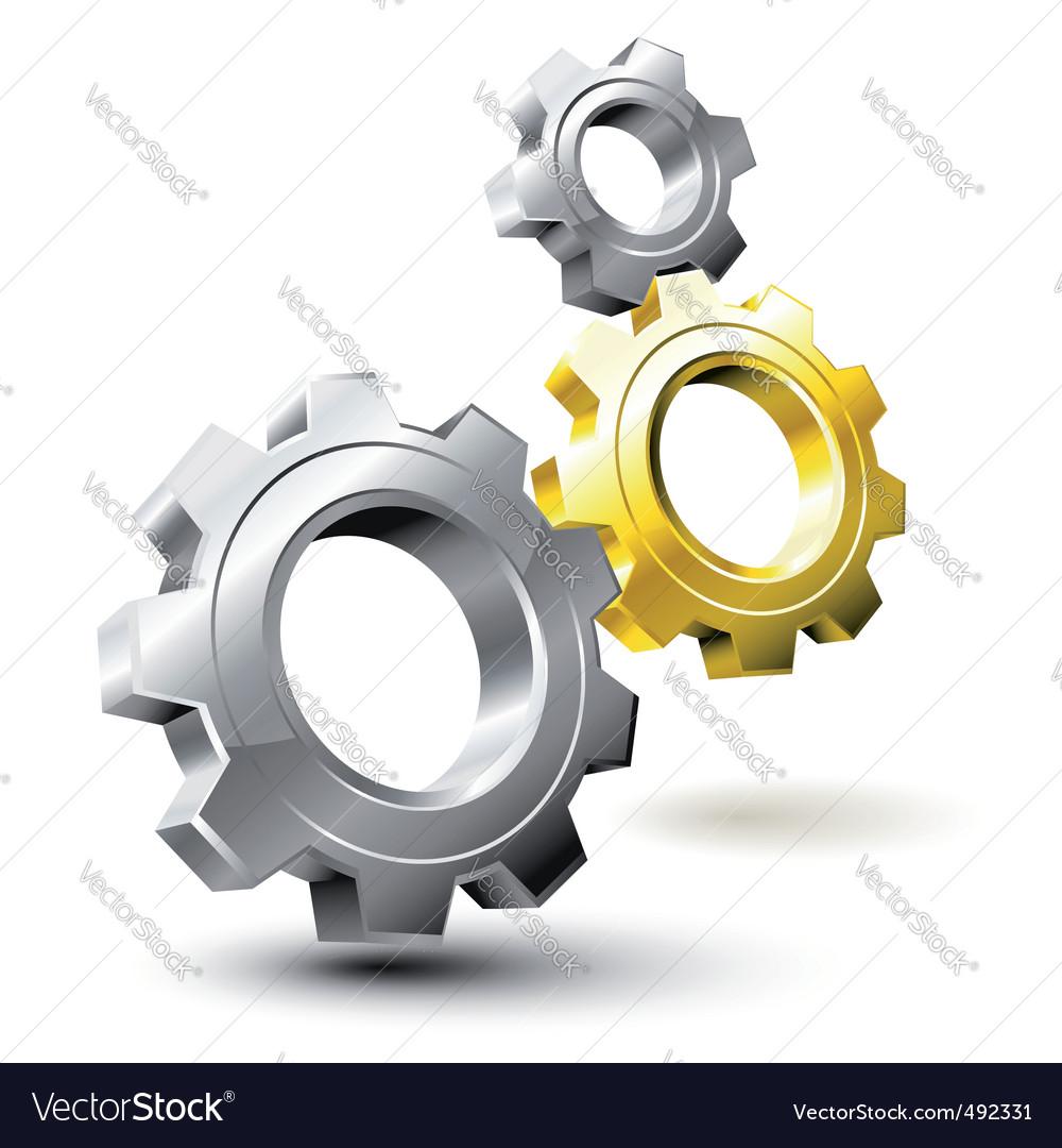 Gear system vector