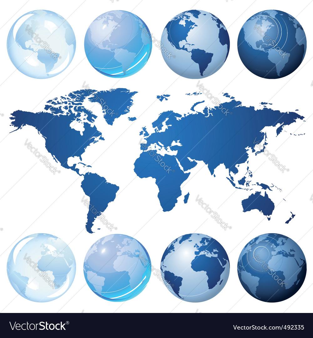 Globe kit vector