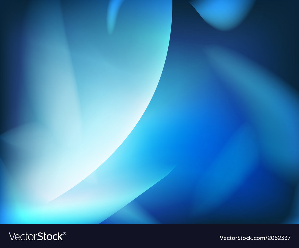 Abstract blue background futuristic wavy vector