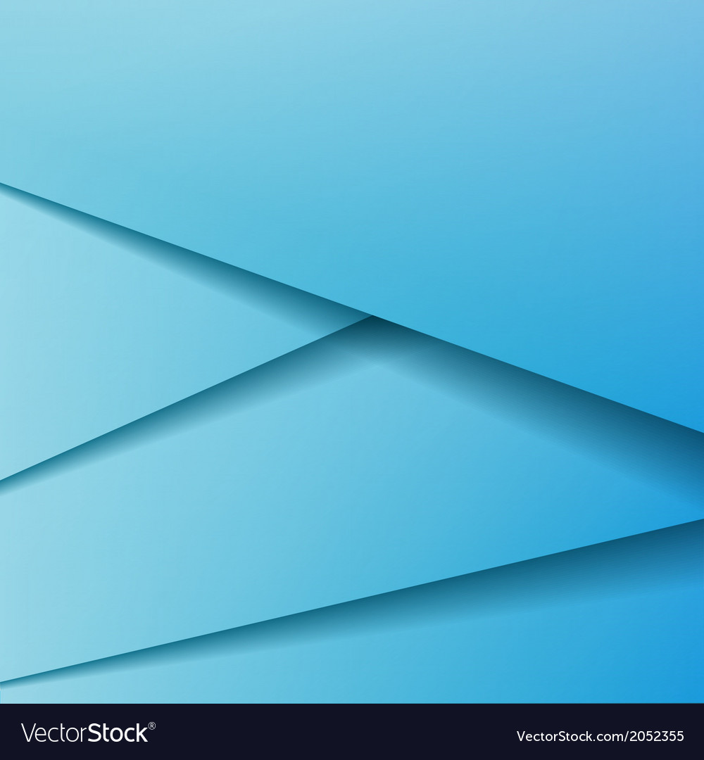 Background with blue paper vector
