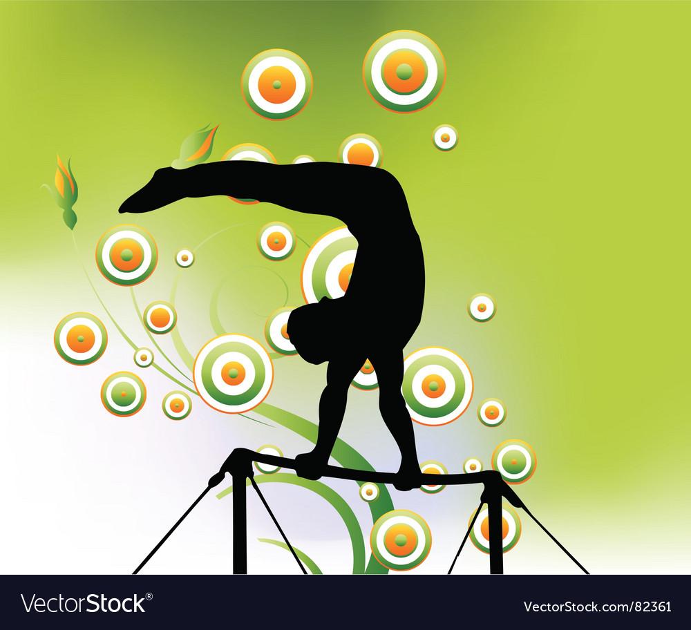 Sport art vector