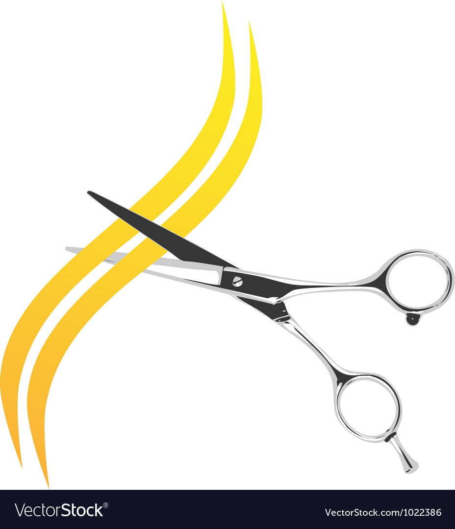 Scissors vector