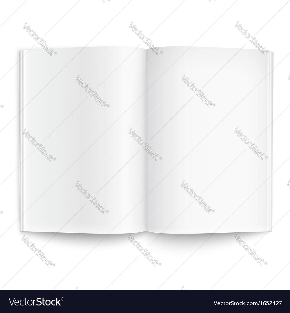 Blank Magazine Template Lektonfo