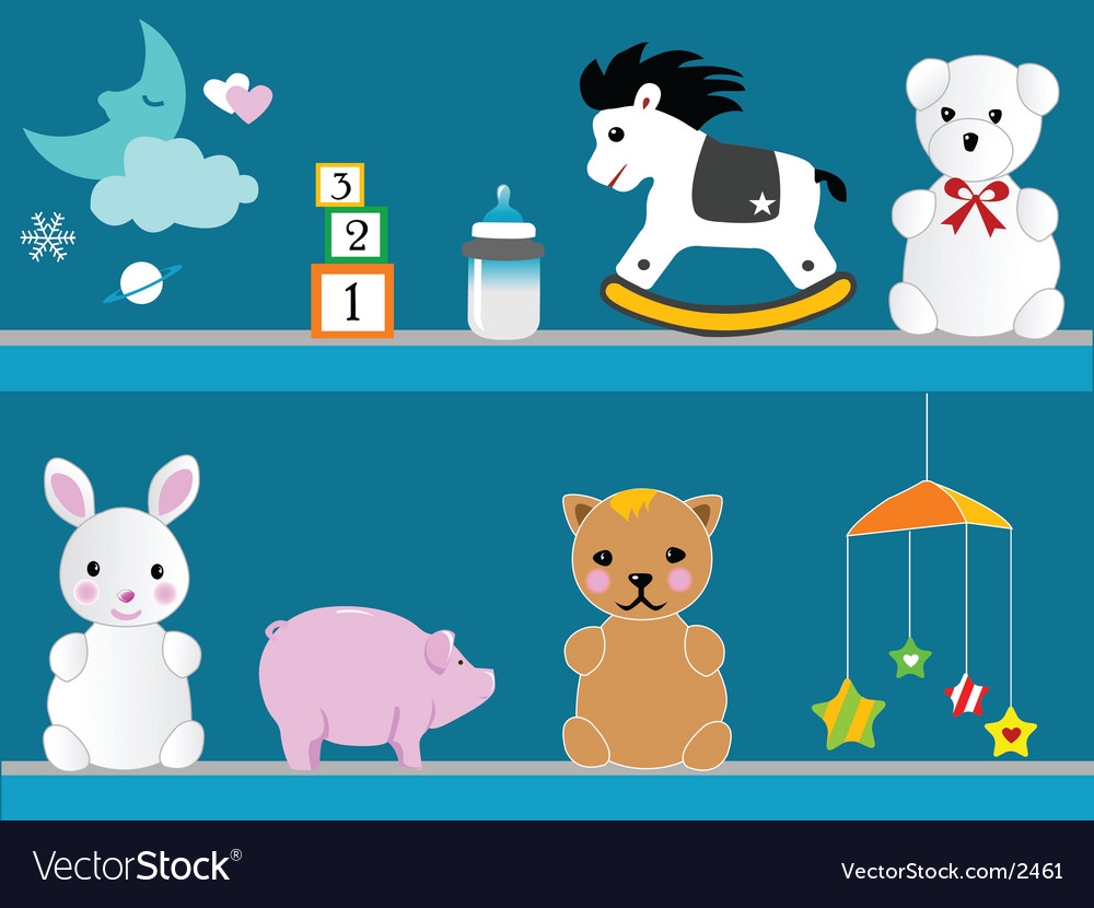 Kid stuff vector