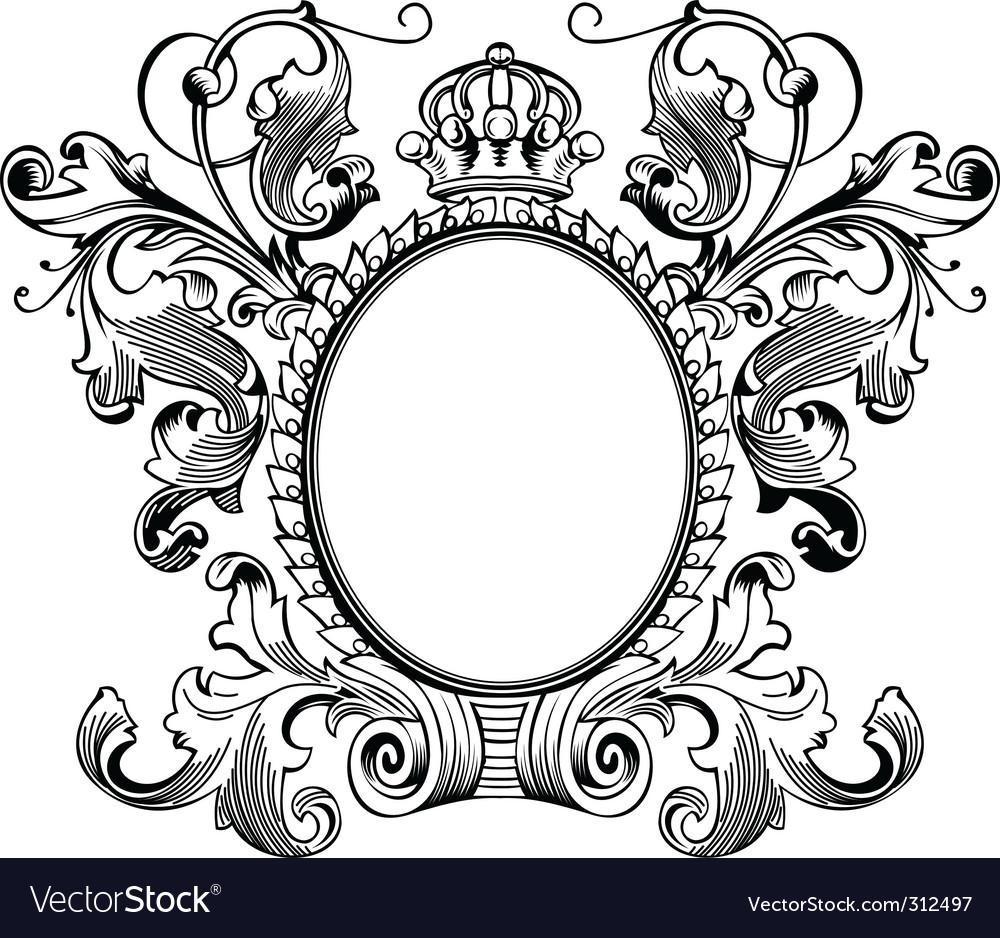 Vintage frames vectorAntique Picture Frames Vector