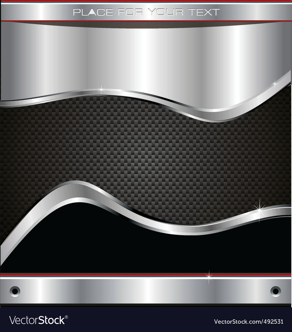 Metal fiber background vector