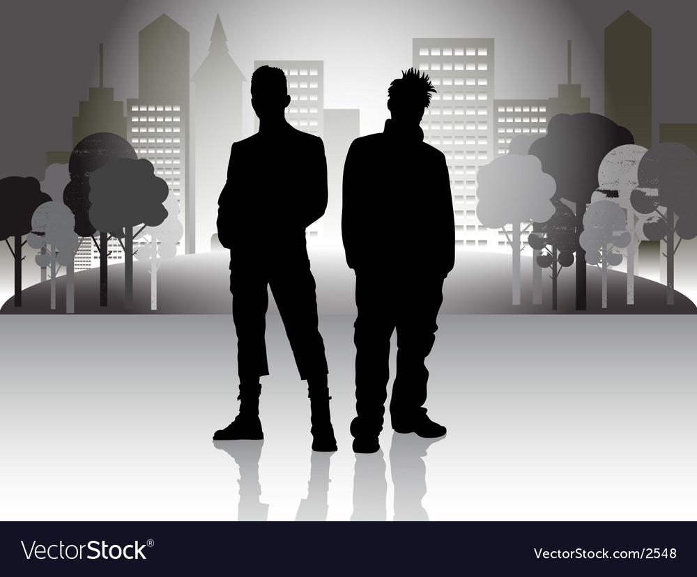 Urban illustration vector