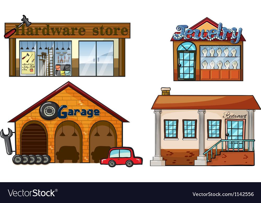 Big stores vector