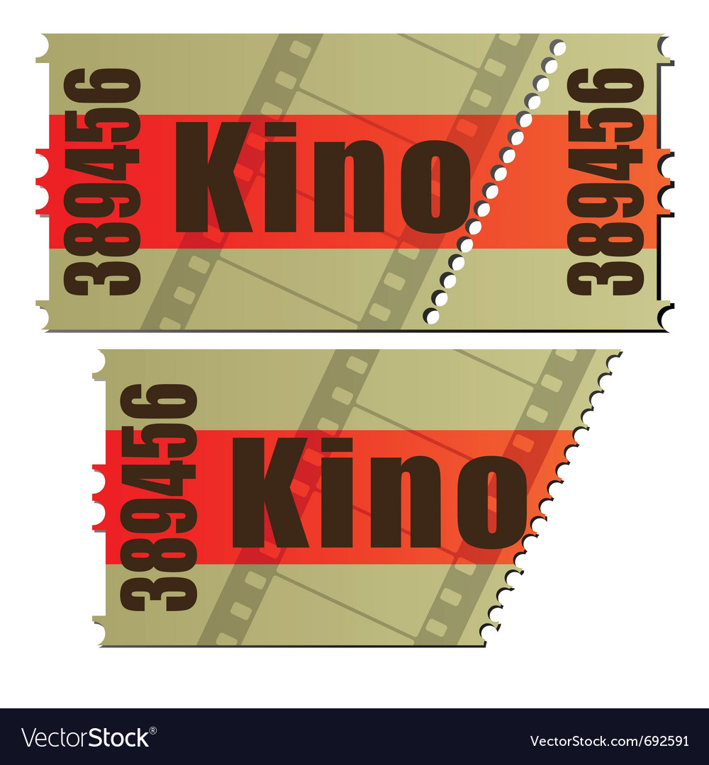 German cinema vector