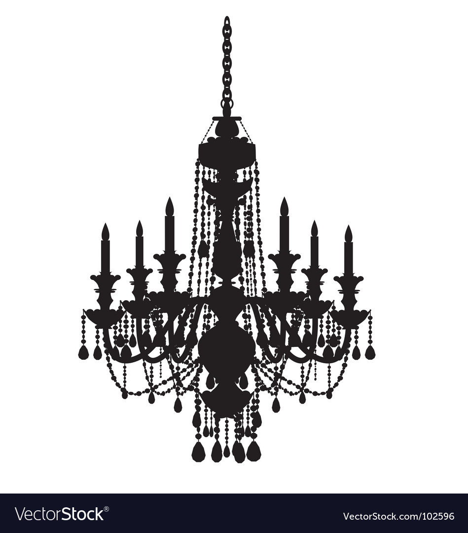 Free chandelier vector