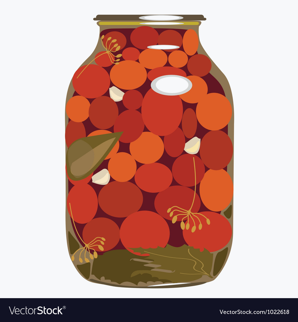 Bank of tomatoes vector