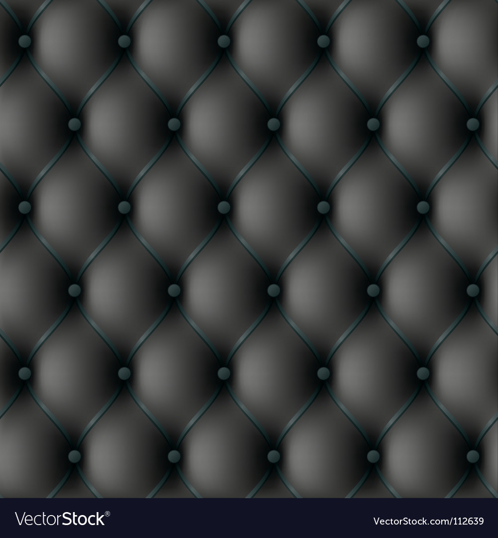 Seamless leather upholstery vector
