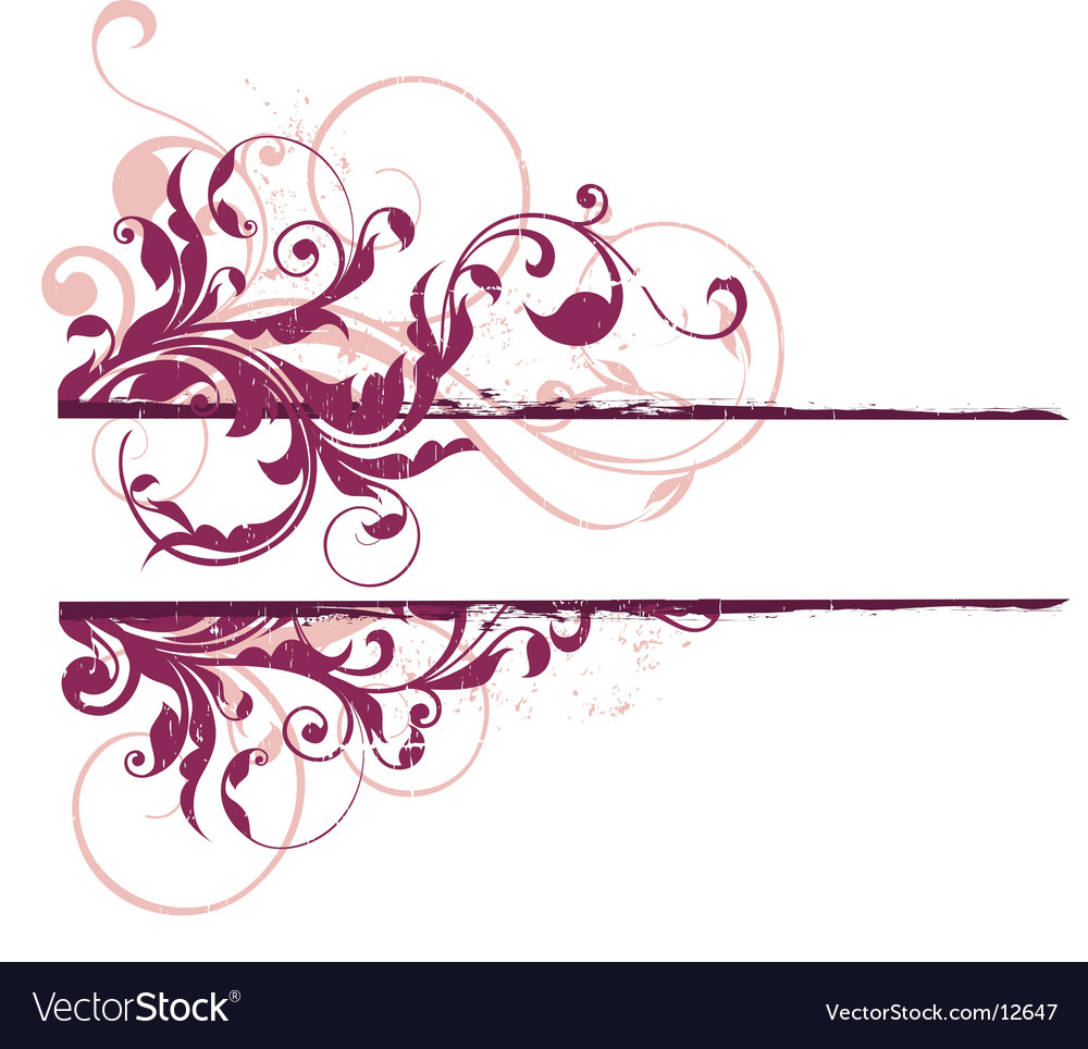 Urban banner element vector