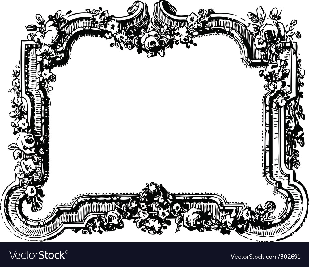 Related Keywords & Suggestions for Victorian Frame Vector