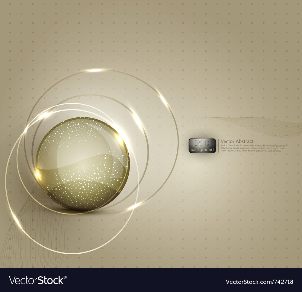 Abstract background for a business with a glass ba vector