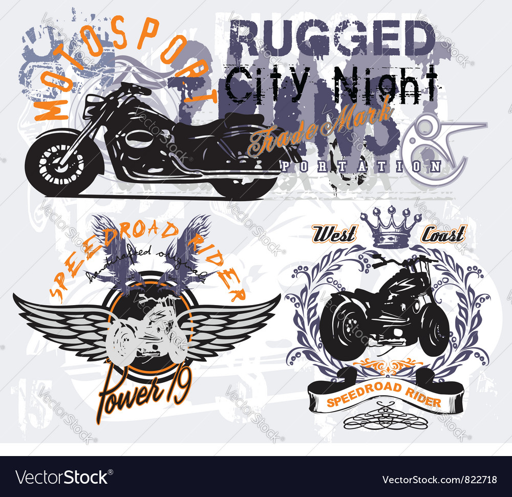 Speedroad rider vector