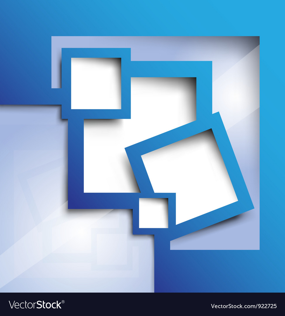 Background blue color vector