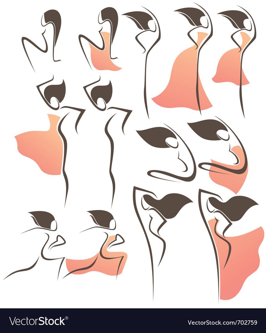 Flamenco style vector
