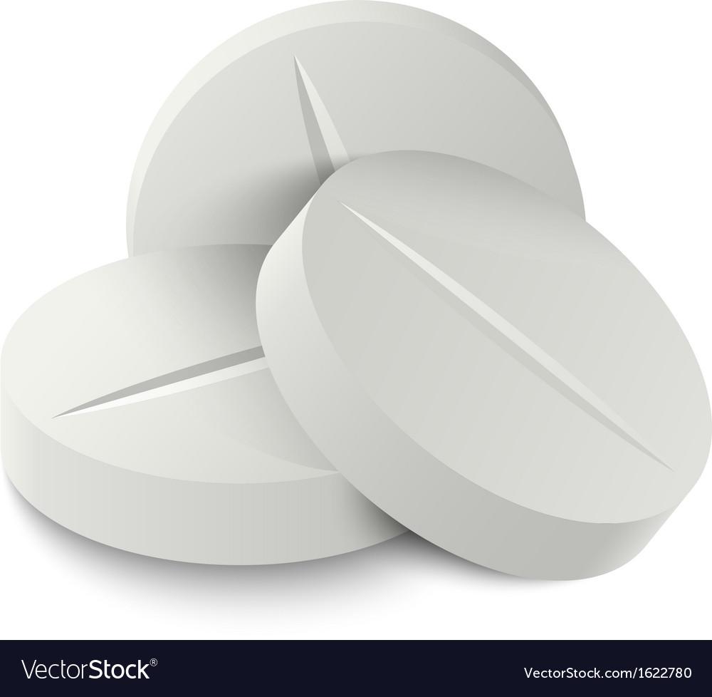 Pill medicine vector