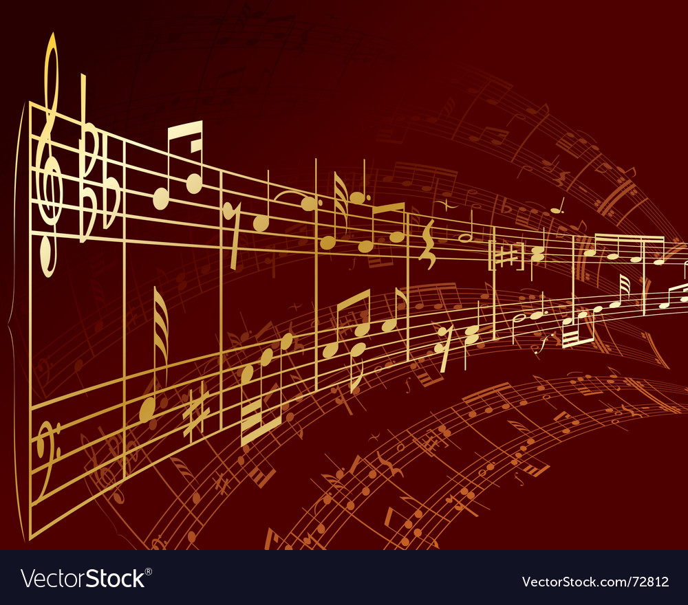 Notes background vector