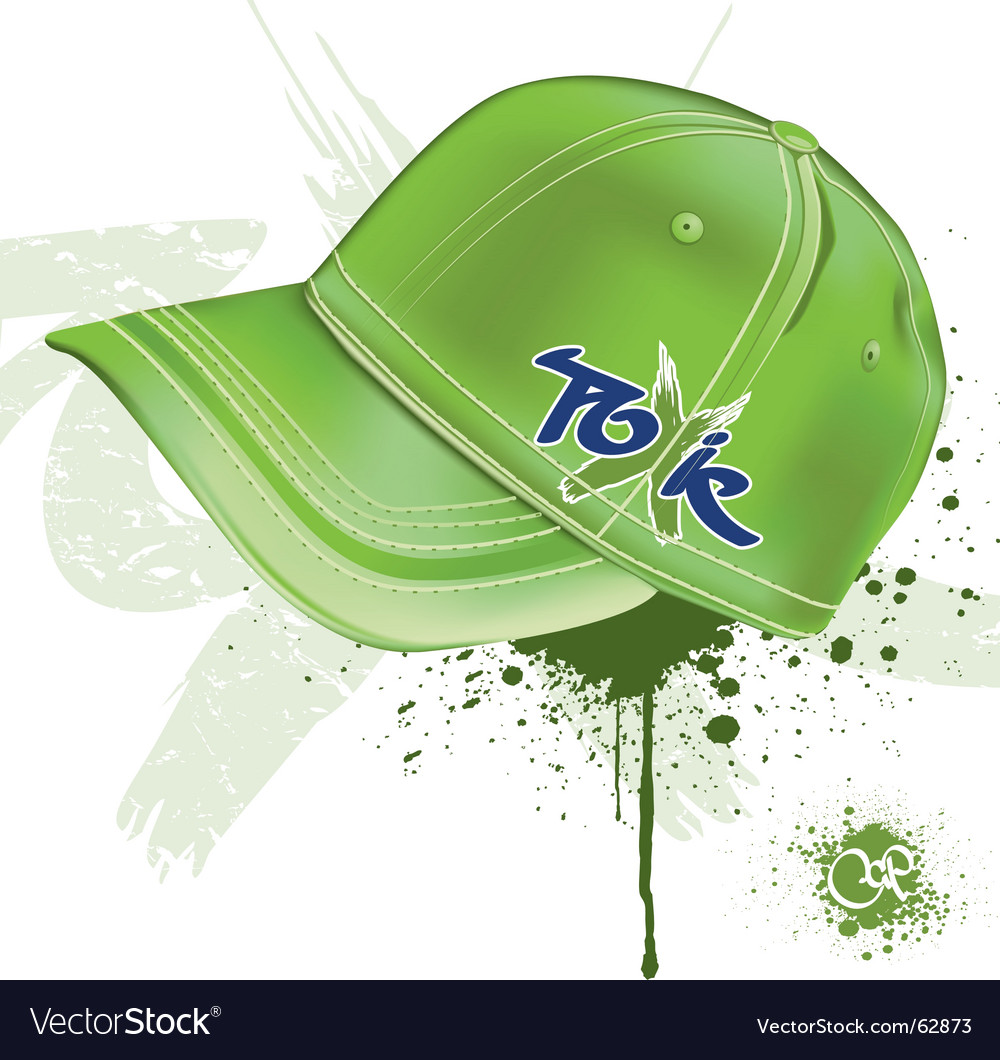 Toxic cap vector