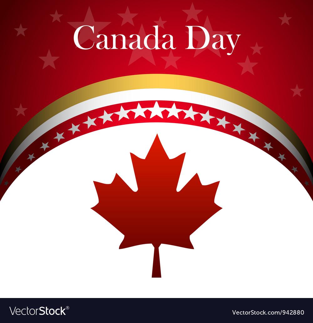 Canada day vector