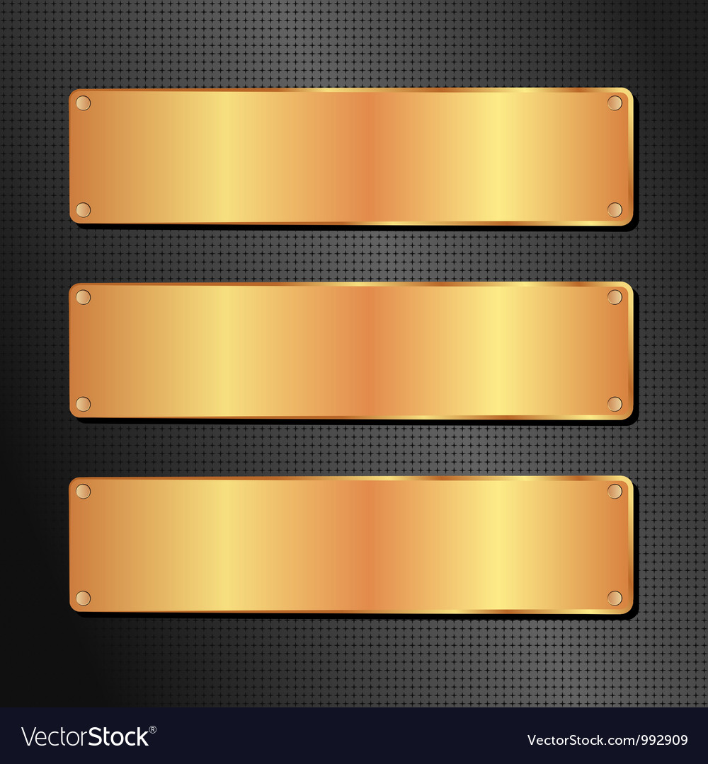 Black and golden background vector