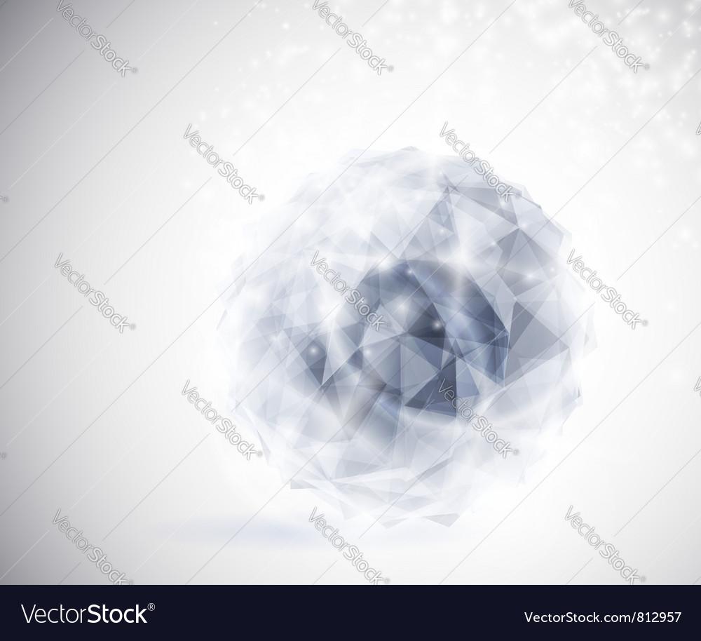 Precious crystal vector