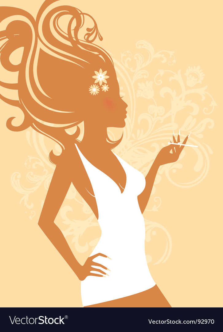 Elegant women  vector