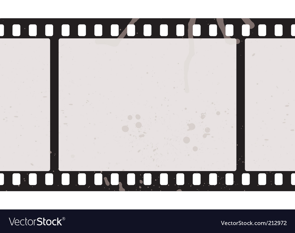 Film strip concept vector