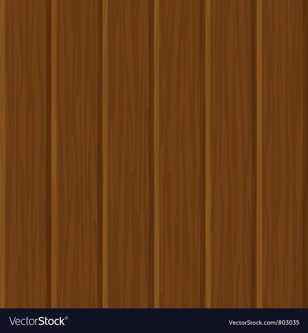 Seamless wood wall texture vector