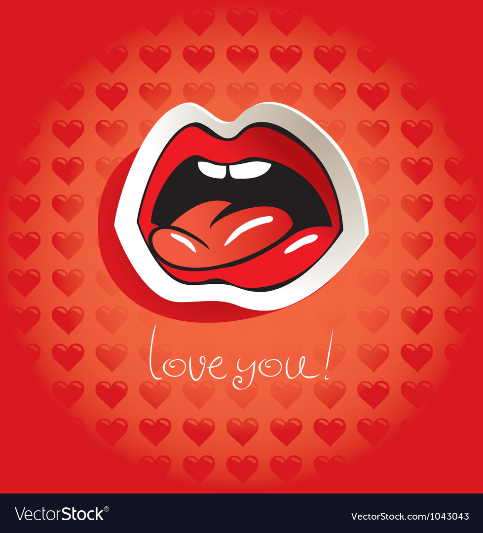 Love language vector