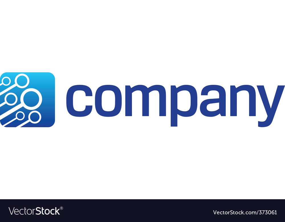Connection cloud logo vector