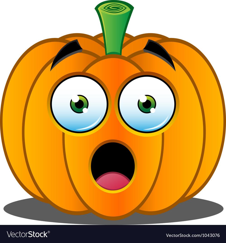 Pumpkin face  1 vector