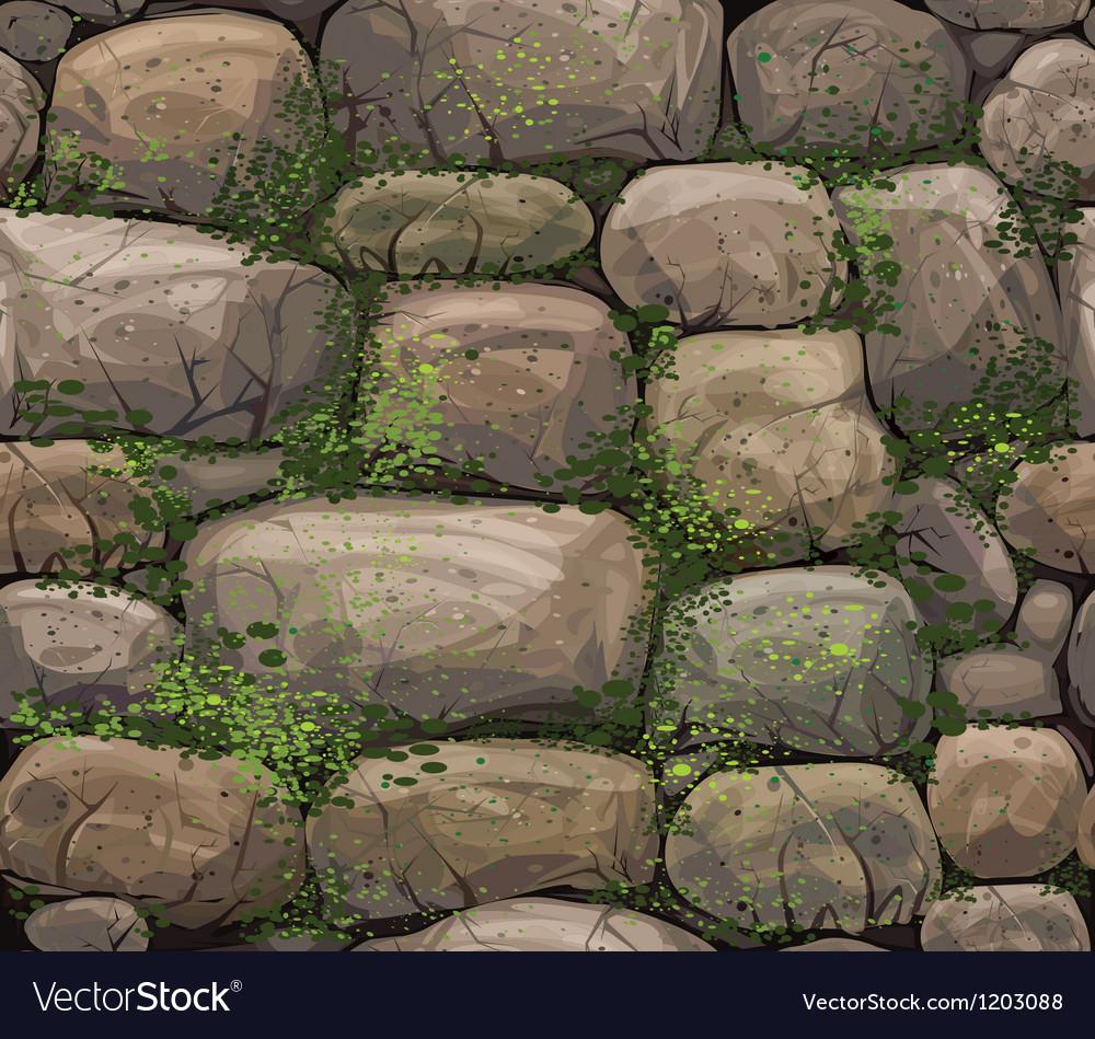Texture of stones vector