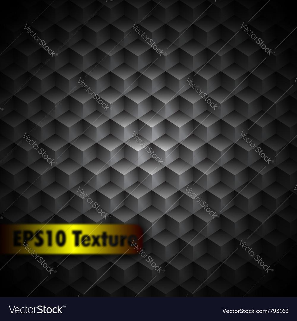 Cubic metal texture vector